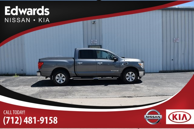 Pre-Owned 2017 Nissan Titan SV 4WD for $439 a month!
